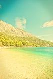 Croatian seascape Royalty Free Stock Photography