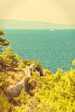 Croatian seascape Royalty Free Stock Image