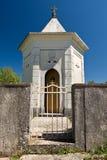 Croatian small chapel Royalty Free Stock Photos