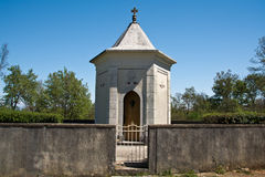 Croatian small chapel Royalty Free Stock Image
