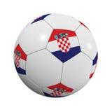 Croatian Soccer Ball Stock Photos