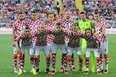 Croatian soccer national team Royalty Free Stock Photography