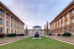 The Croatian State Archives. Zagreb. Royalty Free Stock Image