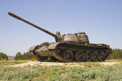 Croatian tank Stock Photo