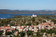 Croatian town Stock Photography