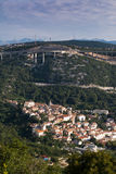 Croatian town Bakar Royalty Free Stock Photos