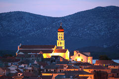 Croatian town Betina Stock Photo