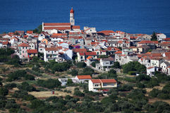 Croatian town Betina Stock Images