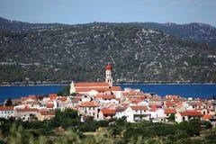 Croatian town Betina Royalty Free Stock Photography