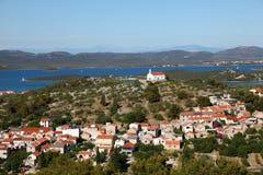 Croatian town Murter Stock Image