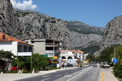 Croatian town Omis Stock Photo