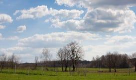 Croatian village countryside scenery Stock Photo