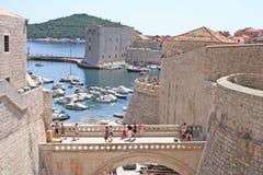 Croatie-Dubrovnik Images libres de droits
