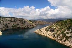 Croatioan kanjon Royaltyfri Foto