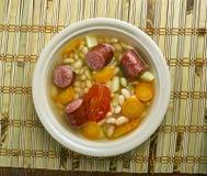 Croato Bean Soup Fotografie Stock