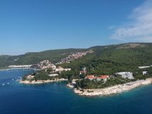 Croazia Rabac стоковое фото rf