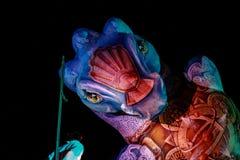Crobatictheater Bogota royalty-vrije stock afbeeldingen