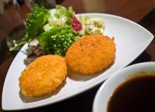 Crocchetta delle patate Fotografia Stock