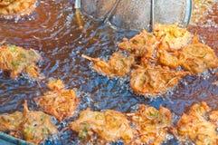 Crocchetta di pesci al curry Fotografia Stock Libera da Diritti