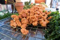 Crocchetta di pesci tailandese Fotografia Stock