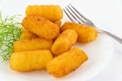 Crocchette della patata Immagine Stock