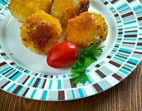 Crocchette di patate Stock Images