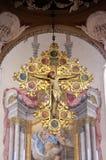 Croce, altare principale in San Petronio Basilica a Bologna, Italia Fotografia Stock Libera da Diritti