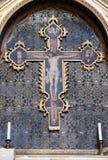 Croce, altare in San Petronio Basilica a Bologna Fotografia Stock
