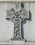 Croce celtica Immagine Stock