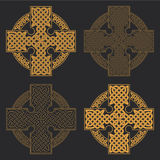 Croce celtica di vettore PR etnico della maglietta di progettazione geometrica dell'ornamento Immagini Stock Libere da Diritti