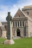 Croce celtica fuori Fotografie Stock