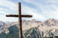 Croce Chabriere, Bardonecchia, Italie Photos stock