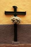 Croce di legno Immagini Stock Libere da Diritti