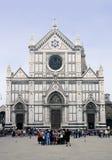 croce florence santa Arkivbilder