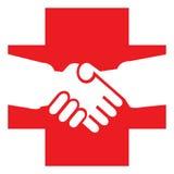 Croce rossa Immagine Stock