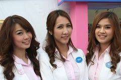 Croce rossa 2011 giusto (la Tailandia) Fotografie Stock Libere da Diritti
