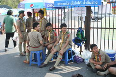 Croce rossa 2011 giusto (la Tailandia) Fotografia Stock