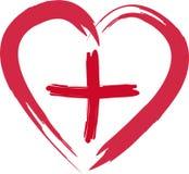 Croce rossa Immagini Stock