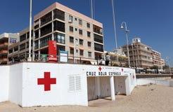 Croce rossa spagnola Fotografie Stock Libere da Diritti
