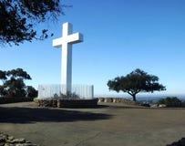 Croce a San Diego, California, S.U.A. fotografia stock libera da diritti