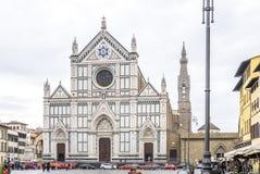 croce santa της Φλωρεντίας Ιταλία Στοκ Εικόνες