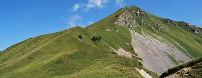 Crocedomini pass. Garda and adamello area in brescia country Stock Images