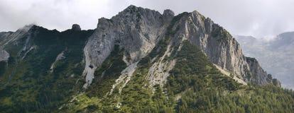 Crocedomini pass, mattoni mount Royalty Free Stock Images