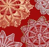 crochects χειροποίητος Στοκ εικόνα με δικαίωμα ελεύθερης χρήσης
