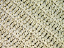 Crochet. White linen crochet suitable as background royalty free stock image