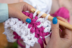 Crochet Photo libre de droits