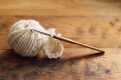 crochet images stock