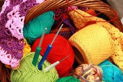 crochet стоковое изображение rf