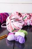 crochet imagenes de archivo
