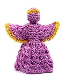 Crochet angel Royalty Free Stock Image